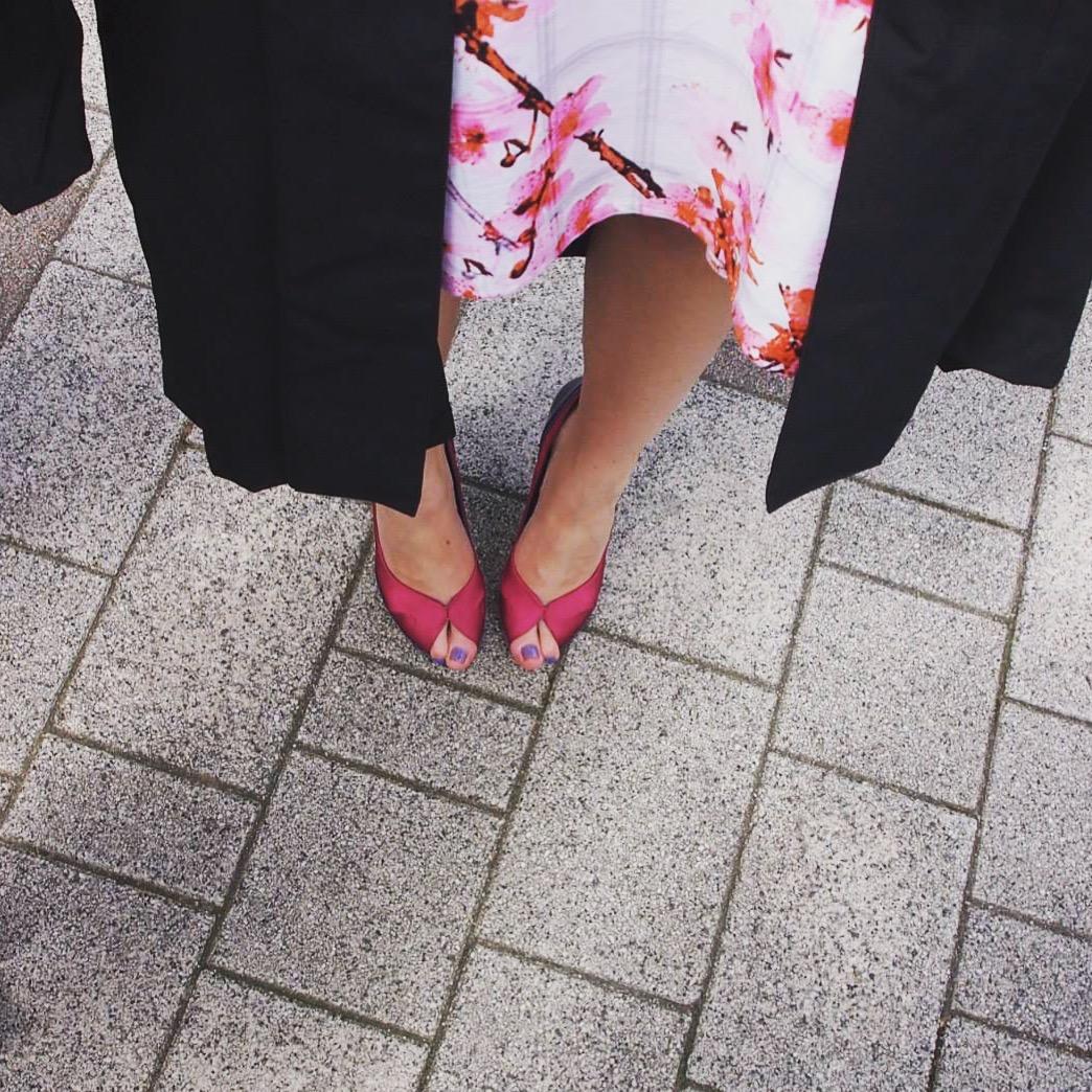 Shoes: Karen Millen Dress: Definitions